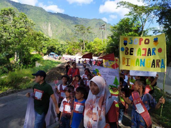 Karnaval Literasi Nusantara Danau Toba