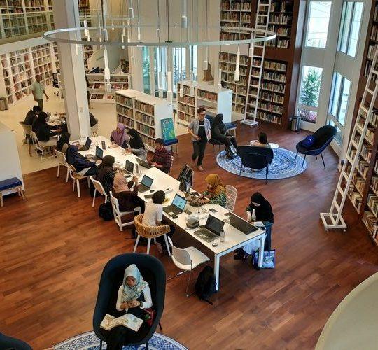 Perpustakaan Keren Erasmus Huis